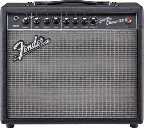 Fender Super Champ XD STR Philips 6V6GT Celestion G10 Greenback Kit