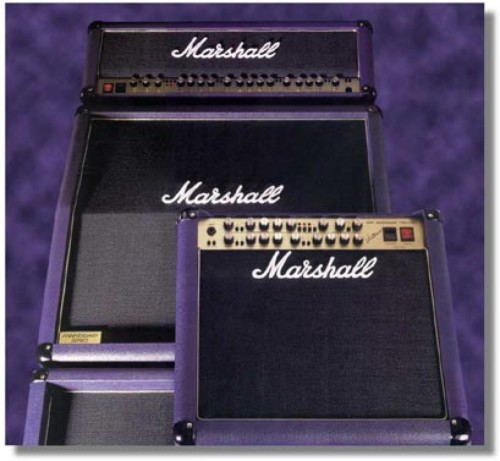 Marshall 7 Valve Harma ECC81 STR Pre Amp Kit Low Gain 40