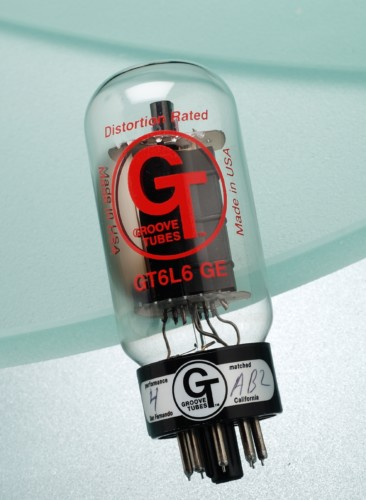 6L6GC-G.E-GROOVE TUBES RE ISSUE SUPER PREMIUM