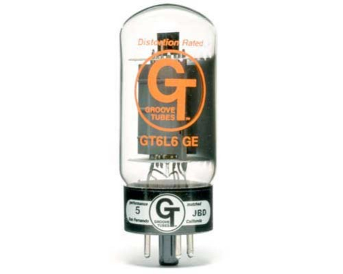 6L6GC-G.E-GROOVE TUBES RE ISSUE SUPER PREMIUM MESA SELECT