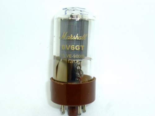 6V6GT STR-MARSHALL TAD CLEAR GLASS
