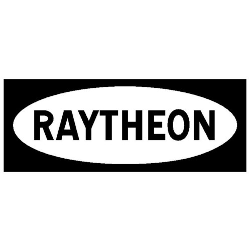 5V4GA-RAYTHEON BLACK PLATE
