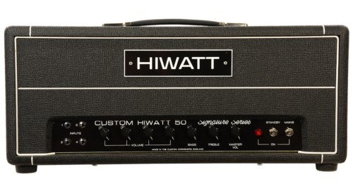 Hiwatt SSP504 Signature Townshend 50 Head STR Marshall EL34B Full Upgrade Kit
