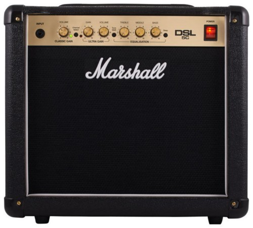 Marshall DSL Series DSL 5 Classic Philips 12BH7A Limited Edition full upgrade kit