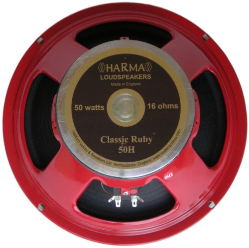 Harma Ceramic British Series Speakers / HARMA-G12-CLASSIC RUBY-50-16 OHM