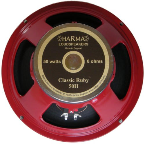 Harma Ceramic British Series Speakers / HARMA-G12-CLASSIC RUBY-50-8 OHM